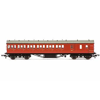 Hornby BR 57' Stanier Icke-Corridor Broms Tredje M20737M Era 4 Modelltåg