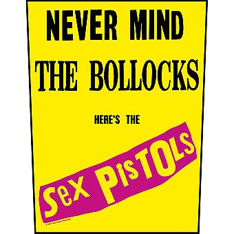 Sex Pistols - The - Never Mind The Bollocks Back Patch