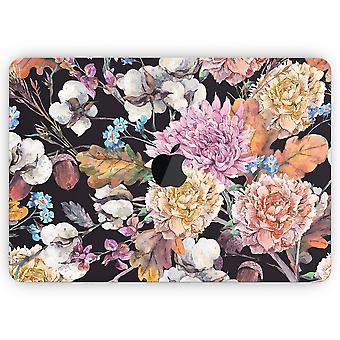 sommer akvarell floral v1 - hud dekal wrap kit kompatibel med