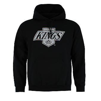 Majestic NHL League Los Angeles Kings Black Mens Hoodie MLK2566DB