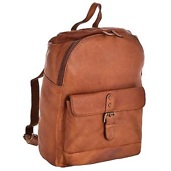 Large Genuine Vintage Leather Backpack