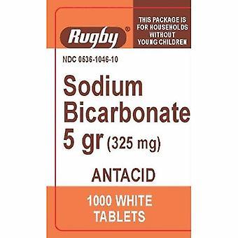 Rugby Antacid Major 325 mg Strength Tablet 1000 per Bottle, 1000 White Tabs