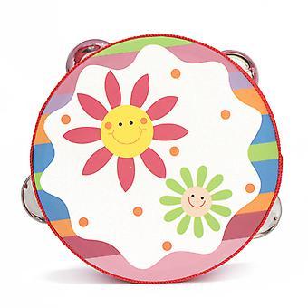 Süße Baby Kinder Musical Tamburin Beat Instrument Pädagogische Handglocke Klatsch Trommel Spielzeug Baby Geschenk