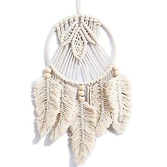 Nordic Tapestry Hand Woven Wall Pendant Hanging Tapestry Macrame Pendant