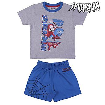 Children's Pyjama Spiderman Grey