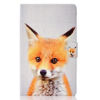 Case For Ipad 9 10.2 2021 Cover With Auto Sleep/wake Pattern Magnetic - Fox