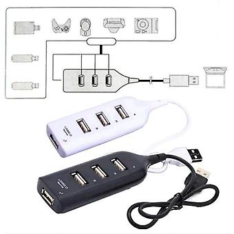 4 Port Hub High Speed Splitter Hub Expansion Adapter Cable For Tablet Notebook Laptop