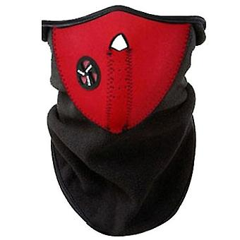 Moto bike outdoor riding dust mask, sun protection and UV protection riding mask(Red)