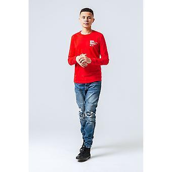 Hype Childrens/Kids Crest Long-Sleeved T-Shirt