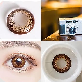 Värilliset silmät yhteystiedot linssi