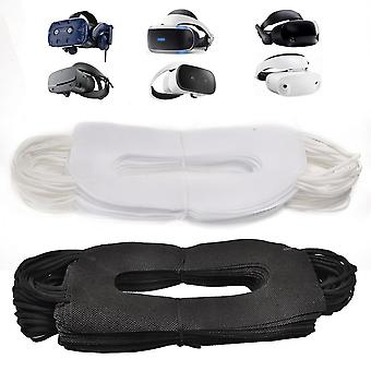 Vr Mask 100pcs Vr Experience Face Mask Sanitary Cloth Compatible Vr Goggle