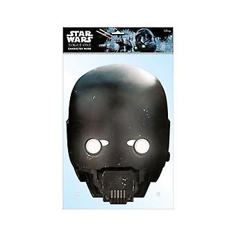 K-2SO Official Star Wars Rogue One Card Party Fancy Dress Mask