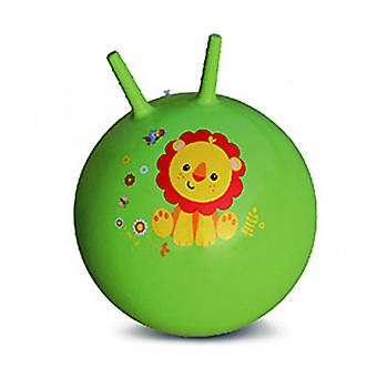 Croissant Rebondissant Ball Baby Gonflable Toy Ball (Vert)