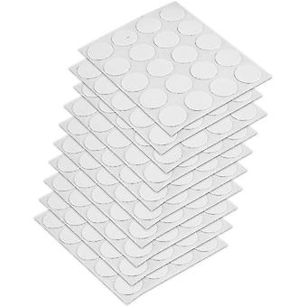 Holiday ornament displays stands 4026415 self adhesive screw cover cap  white  Ø13mm 200 pcs set of 200 pieces