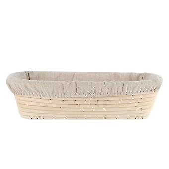 Boheemi rottinki luonnollinen ympäristöystävällinen ruoka korit (20.5x14x7cm)