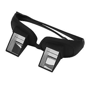 Increíble perezoso periscopio de lectura horizontal tv sentarse ver gafas en la cama acostarse cama prisma gafas