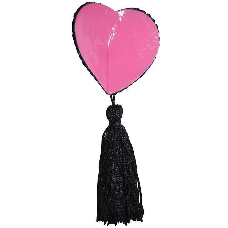 Rose Diamante Heart glands mamelon - forme de coeur