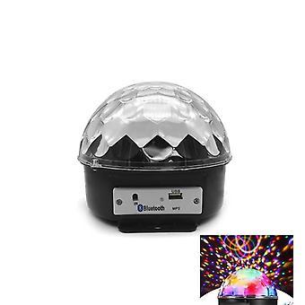 Ktv Led Bühne Licht Familie Atmosphäre Licht Rgb Bunte Magic Ball Sound Control Bluetooth Kristall Magic Ball Licht Sechs Farben (Bluetooth + Karte) Groß