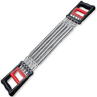 Brustexpweiter Armtraining, verstellbares Armkrafttrainingsgerät (rot und schwarz)