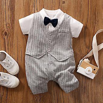 Baby Onesies Gentleman Baby  One-year-old Dress