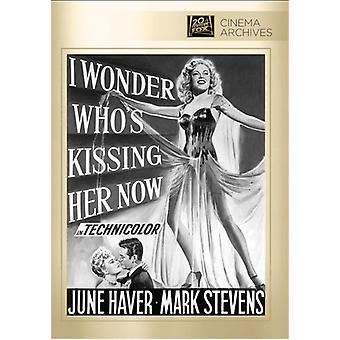 I Wonder Who's Kissing Her Now? [DVD] USA import