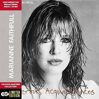 Marianne Faithfull - Dangerous Acquaintances [CD] USA import