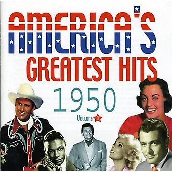 America's Greatest Hits - Greatest Hits Vol. 1-1950-Ameryka [CD] USA import