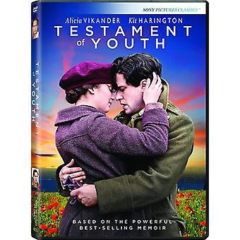 Testamente ungdom [DVD] USA import