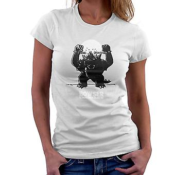 Bowser Unchained Super Mario Bros Women's T-Shirt
