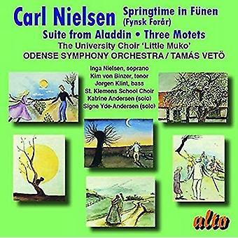 Université choeur «Little Muko» S Odense - Nielsen: Springtime in F? NEN; Suite de [CD] USA import