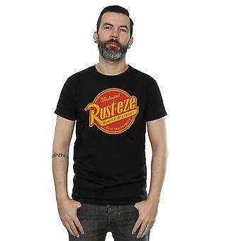 Disney Herren Cars Rust-Eze Logo T-Shirt