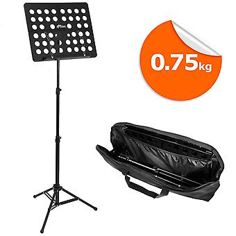 Tiger Lightweight 0.75kg Music Stand & Carry Bag - Portable Stand