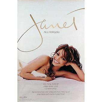Janet Jackson All for You Poster