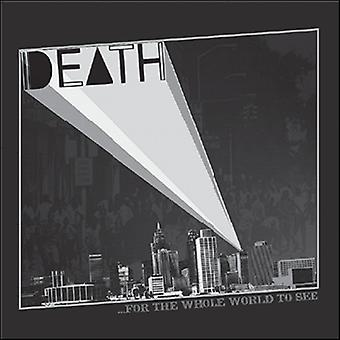 Death - For the Whole World to See [CD] USA import