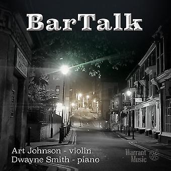 Johnson*Art / Smith*Dwayne - Bartalk [CD] USA import