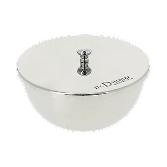 Dr Dittmar Pewter Shaving Bowl met deksel en Shaving Soap 9004