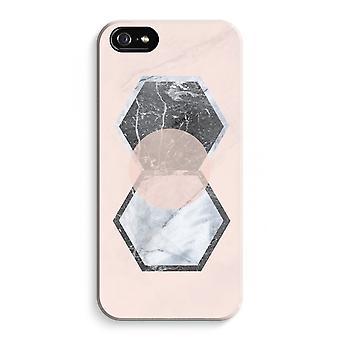 iPhone 5C koko Tulosta tapauksessa (kiiltävä) - Creative koskettaa