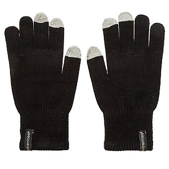 New Extremities Thinny Touch Men's Gloves with Touchscreen Compatibility Black