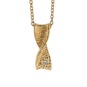 Orphelia Silver 925 Chain With Pendant Godlplated Zirconium  ZH-6028/2
