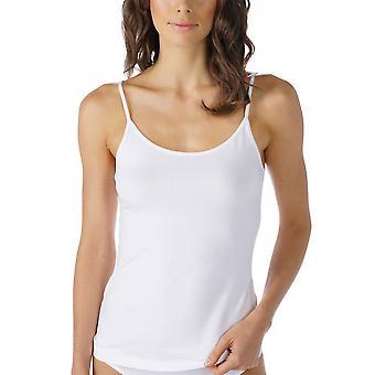 Mey 25500 Women's Cotton Pure Solid Colour Spaghetti Vest Top