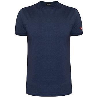 DSQUARED2 Underwear Indigo Blue Melange T-Shirt