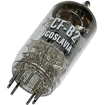 ECF 82 = 6 U 8 = 6 KD 8 = 6 EA 8 = 6 F 2 = 6 GH 8 vakuumrør triode Rørpentode 150 V, 170 V 18 mA, 10 mA antall pinner: 9 Base: Noval innhold 1 PC (er)