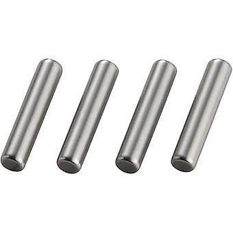 1:10 Rim catch shaft Reely Silver 4 pc(s)