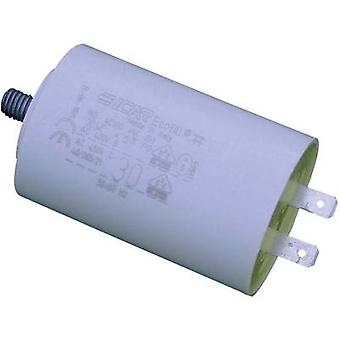 Weltron WB40120/A 1 PC (s) MKP motor capacitor conector clipes 12 μF 450 V AC 5% (Ø x H) 35 mm x 71 mm
