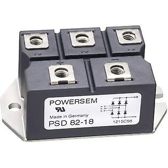 POWERSEM PSB 82-16 Diode bridge Figure 1 1600 V 72 A 1-phase