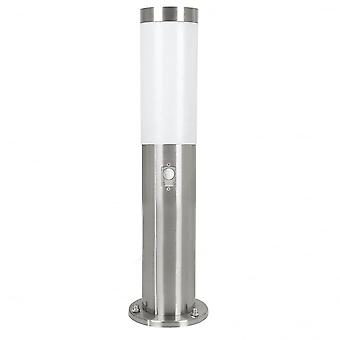 Eglo Helsinki Mini Stainless Steel Post With Movement Sensor