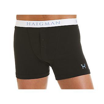 Haigman Mens Boxer Short Trunk Underwear (Pack of 4)