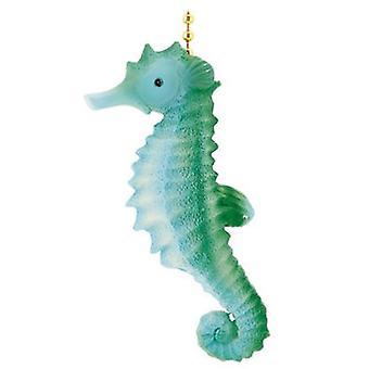 Przybrzeżnych Tropikalne Ocean Seahorse Decor sufitu wentylatora Pull