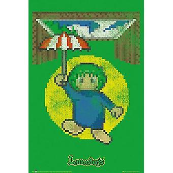 Lemmings Poster Falltür
