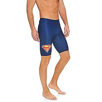 Zoggs メンズ スーパーマン ジャマー、海軍